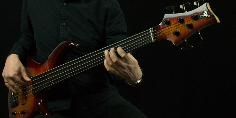 Picture of a bassplayer